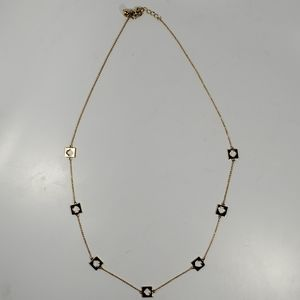 Kate Spade Chain Necklace Gold